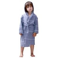 Azure Kids Robe