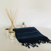 Indigo Silk Towel/Pareo