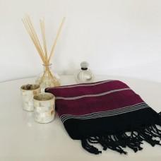 Magenta Silk Towel/Pareo