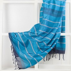Aqua Silk Towel/Pareo